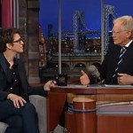 David Letterman Lets His Anger About Anti-Gay Discrimination Rip in Discussion with Rachel Maddow: VIDEO
