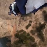 Mindblowing Wingsuit Dive Through Tiny Cave Will Give You a Rush: VIDEO