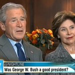 George W. Bush Surfaces: VIDEO