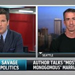 Dan Savage Talks to Thomas Roberts About Monogamy, Marriage, and Rick Santorum: VIDEO