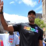 Jason Collins Marches in Boston Pride Parade: Video