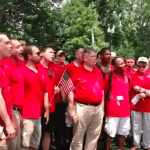 Gay Men's Chorus Of D.C. Makes Its Voices Heard At The Supreme Court: VIDEO