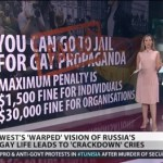 'Russia Today': America's View of Anti-Gay Laws is 'Warped' — VIDEO