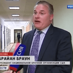 NOM's Brian Brown Collaborated with Russian Legislators on Country's Gay Adoption Ban: VIDEO