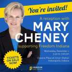 Mary Cheney Hosting Fundraiser to Fight Proposed Indiana Ban on Gay Marriage