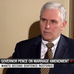 Indiana Governor Pushes Lawmakers to Send Gay Marriage Ban to Voters This Year: VIDEO