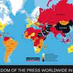 Freedom of the Press Worldwide in 2014: MAP