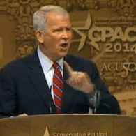 Oliver North Tells CPAC That GOP Must Fight Gay Equality Like Abolitionists Fought Slavery: VIDEO