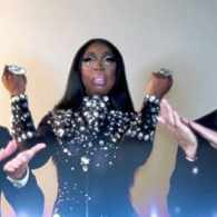 Bebe Zahara Benet Puts in Some 'Face' Time: VIDEO