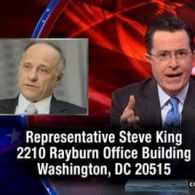 Stephen Colbert: Please Send Gay Photos to GOP Rep. Steve King for Independent Verification — VIDEO