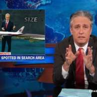 Jon Stewart Mocks CNN's Preposterous Wall-to-Wall Coverage of Malaysia MH370: VIDEO