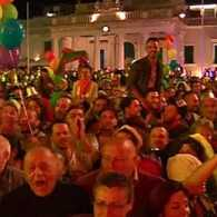 Malta's Palace Square Explodes with Joy After Passage of Gay Civil Unions Law: VIDEO