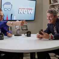 Andy Cohen Meets Future Husband While Teaching Larry King How to Use Tinder: VIDEO