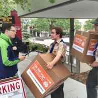 Amazon Receives 125K Hand-Delivered Petitions to Drop Boy Scouts Over Its Anti-gay Policy