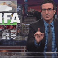 John Oliver Slams Qatar's Selection as World Cup Host By 'Comically Grotesque' FIFA: VIDEO