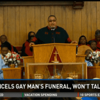 Florida Pastor Sticks By Decision Canceling Man's Funeral Because He Was Gay: VIDEO