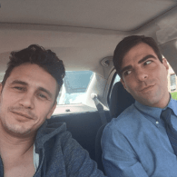 James Franco and His 'New Lover' Zachary Quinto: PHOTO