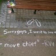 Robin Williams Fans Show Their Love At 'Good Will Hunting' Bench: VIDEO