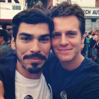 Actors Jonathan Groff and Raul Castillo Hit the Folsom Street Fair + 15 More 'Looking' Set PHOTOS