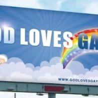 Utah Companies Reject 'God Loves Gays' Billboards, God Not Impressed