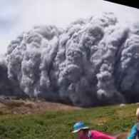 Hiker Captures Dramatic Footage of Enveloping Ash Cloud During Japanese Volcano Eruption: WATCH