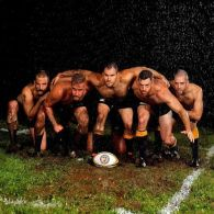 Nashville's Gay Rugby Team Gets Wet, Muddy, and Shirtless for New Calendar: PHOTOS