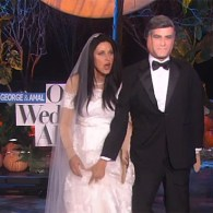 Ellen Goes Hetero for Halloween, Marries George Clooney: VIDEO