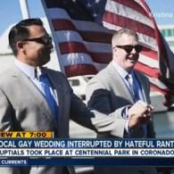 Coronado, California Residents Give Gay Couple Heckled by Homophobe a 'Do-Over' Wedding