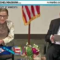 Rachel Maddow's Best New Thing In The World Is Ruth Bader Ginsburg's Knowledge of Tumblr: VIDEO