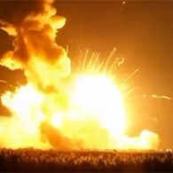 Unmanned Rocket Bound For International Space Station Explodes: VIDEO