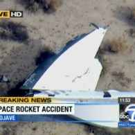 One Killed In Virgin Galactic SpaceShipTwo Test Flight Crash: VIDEO