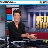 Rachel Maddow Looks At SCOTUS' October Surprise, Interviews 'Incredibly Joyous' Edie Windsor: VIDEO