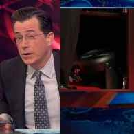 Stephen Colbert and Jon Stewart Have a Field Day Over the Florida Gubernatorial Electric Fan Debate: VIDEO