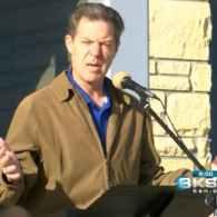 Kansas Gov. Sam Brownback Rallies Against Gay Marriage: VIDEO