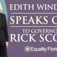 Edie Windsor Urges Florida Governor Rick Scott to Stop Fighting Gay Marriage – AUDIO
