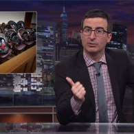John Oliver Comments on the Strangest Thanksgiving Tradition: VIDEO