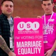 Irish Students Union Launches 'Vote For Love' Marriage Equality Campaign: VIDEO