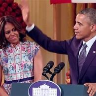 Obama Sings 'Uptown Funk': VIDEO