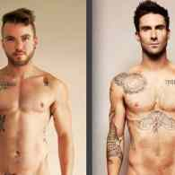 This Trans Model's Recreation of Adam Levine's Iconic Nude Pose Will Have You Sweating: PHOTOS