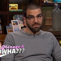 Zachary Quinto Fills in Andy Cohen About His Threesome with James Franco and Charlie Carver: VIDEO