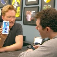 Billy Eichner Helps Conan Make a Gay Connection on Grindr: VIDEO