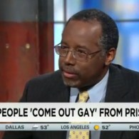 Ben Carson: Homosexuality Is a Choice Because People Come Out of Prison and They're Gay — VIDEO