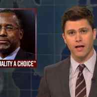 SNL Rips Into Ben Carson's 'Homosexuality Is a Choice' Comments in Weekend Update Volley: VIDEO