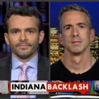 Former RNC Chair Michael Steele Sides with Dan Savage on Indiana 'Religious Liberty' Law: VIDEO