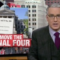 Keith Olbermann Rips Indiana: The NCAA Must Move the Final Four — VIDEO