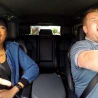 Jennifer Hudson Belts James Corden's Hamburger Order During Hilarious Karaoke Commute: VIDEO