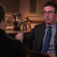 John Oliver and Edward Snowden Discuss NSA, Missing Hot Pockets, and the D–k Pic Surveillance Program: WATCH