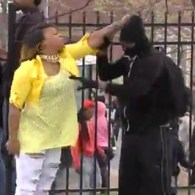 Baltimore Mother Finds Son and Beats Him for Participating in Riots: VIDEO