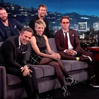 Jimmy Kimmel and the Avengers Cast React to Gay Erotic Fan Art: VIDEO