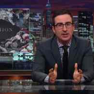 John Oliver Sizes Up the Fashion Industry and the Human Cost of Cheap Clothing: VIDEO
